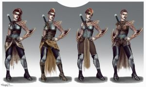 Morrend Costume Variations by RachelleFryatt