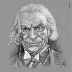Doctor Who: First Doctor by rfparker