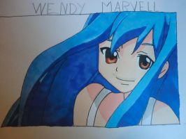Wendy Marvell from fairy tail by SooCatArt