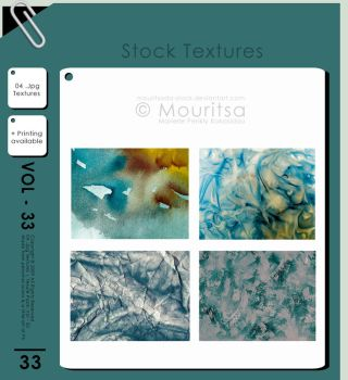 Texture Pack - Vol 33 by MouritsaDA-Stock