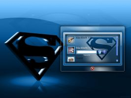 Superman Logon by blackbelt777