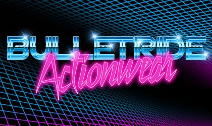 80s retrowave chrome and neon by Bulletrider80s