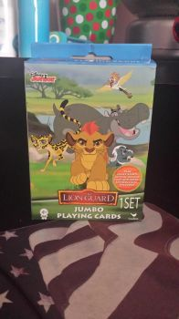 The Lion Guard Jumbo Playing Cards by Nateumstead