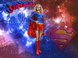 Supergirl in the Stars by Superman8193