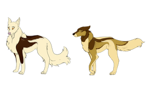 Andraste Fam Adopts by LadyPipen