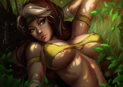 Savage Land Rogue by dandonfuga