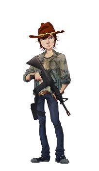 Carl Grimes by pungang