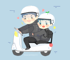What a Ride for chanbaek by Sunnydea