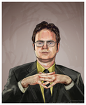 Dwight Schrute by SoftSpirit118