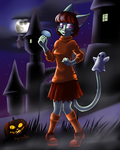 Jinkies, a ghost! by Mancoin