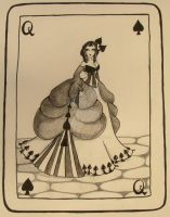 The Queen Of Spades by Gothic-Moonlight