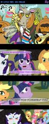 MLP: Dis-TROLLED -Comic- by LadyAniDraws