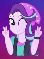 Starlight glimmer Equestria Girls by Sunshinebluewings