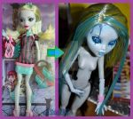 Lagoona Sapien. OOAK of Lagoona.Monster high by Licredoll