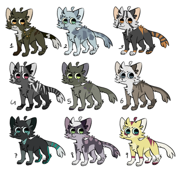 pay what you want - cats adopts (OPEN) by PapyJakesAdoptables