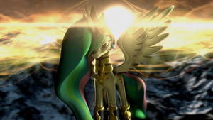 Guardian of the Sun SFM by TsuriaDragon