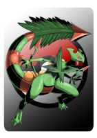 Mega Sceptile. by Serpentkingsaul2