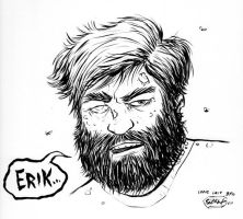 Zombie Zach Galifianakis by SethWolfshorndl