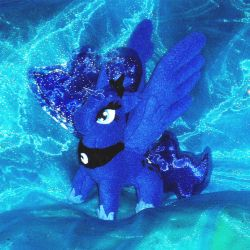 Princess Luna Plushie by Drknz13
