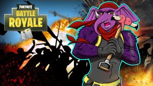 Fortnite BR Gorillaphent vs 50ppl by LordMaru4U