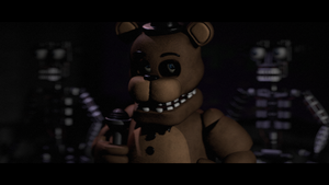 [FNAF SFM] Freddy on scene by MangoISeI