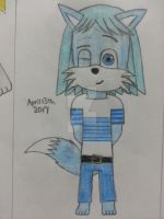 April 13th, 2017: Icicle Frost Prower's 2nd Outfit by The-Badger-Wolf