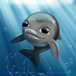 Little Dolphin by shatos