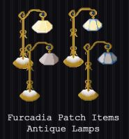 Furcadia Items - Antique Lamp [FREE] by PointyHat