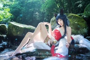 league of legend / Ahri by Julia-MiFei