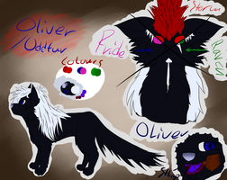 Oliver OddFur - Fursona by BloodSoacker