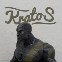 Kratos typography by xavierlokollo