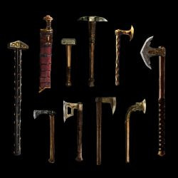 THESEVENHOUSES Weapons by Artigas