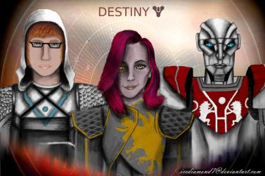 Destiny 2 - My Fireteam Part 2 by icediamond7