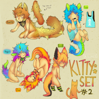 Kitty Set #2 (closed) by HJeojeo
