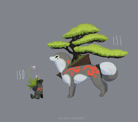 Bonsai and companion by witherlings