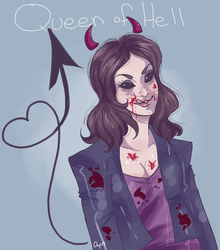Queen of Hell by CynDyn
