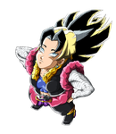 Kafla 18 (Kalfa x Android 18)(Render) by TraxLord94