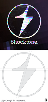 Shocktone Logo Design by Thvg