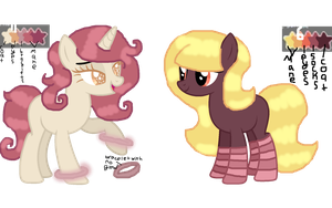 6 and 11 from color pallete adopt by MintyMagic74