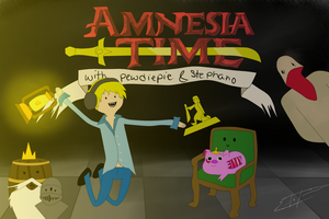 Amnesia Time w/ Pewdie and Stephano by Icicle1penguin