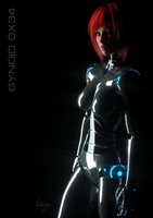 Gynoid 0x34 by TweezeTyne