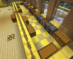 Sky Army Basecamp: Cafeteria - Kitchen by xSagefurx