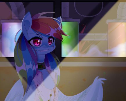 Rainbow Factory (SPEEDPAINT) by Clefficia