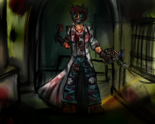 Pychotic Docter by xXPowerSurgeXx