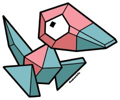 Porygon by domino626