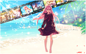 SUMMER FULL OF MEMORIES | WALLPAPER by Shijori