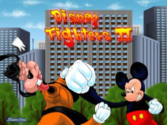 DisneyFighterII by Jeronimight