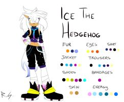 Ice the hedgehog (Ice Queensland) by Ell-llEy