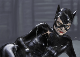 Catwoman by ZeNoon