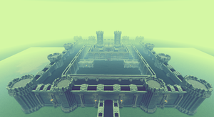 Fabul Castle FFIV in Minecraft by Sir-Beret